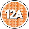 12A means that anyone aged 12 or over can go and see the film unaccompanied