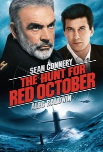 Poster for The Hunt for Red October (1990)
