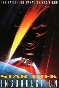 Poster for Star Trek: Insurrection (1998)