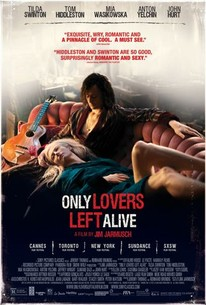 Poster for Only Lovers Left Alive (2013)
