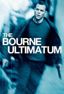 Poster for The Bourne Ultimatum (2007)