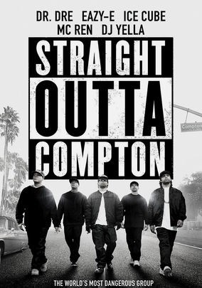 Poster for Straight Outta Compton (2015)