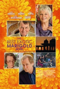 Poster for The Best Exotic Marigold Hotel (2011)
