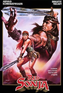 Poster for Red Sonja (1985)