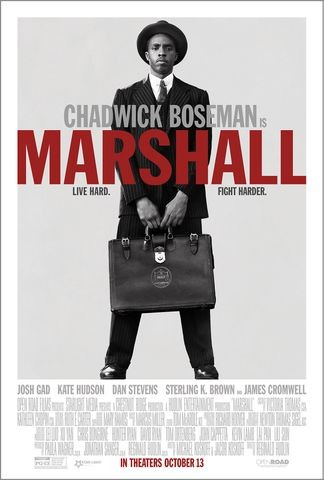 Poster for Marshall (2017)