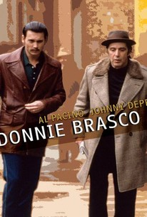 Poster for Donnie Brasco (1997)