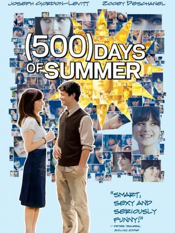 Poster for (500) Days of Summer (2009)